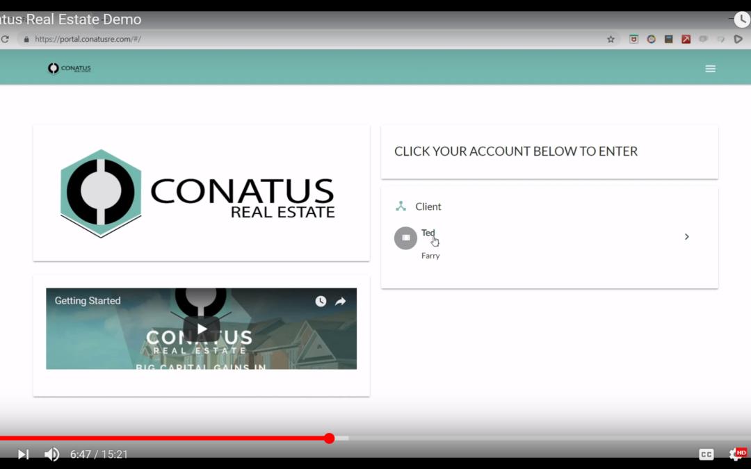 What Does Conatus Real Estate Do? Conatus Real Estate Demo