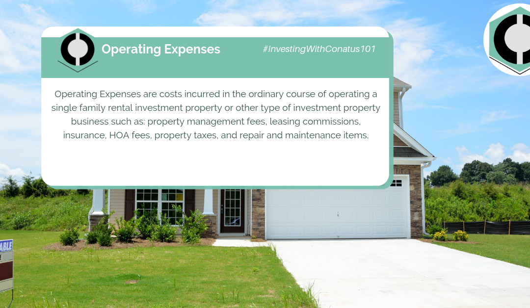 What Are Operating Expenses In SFR Investing?
