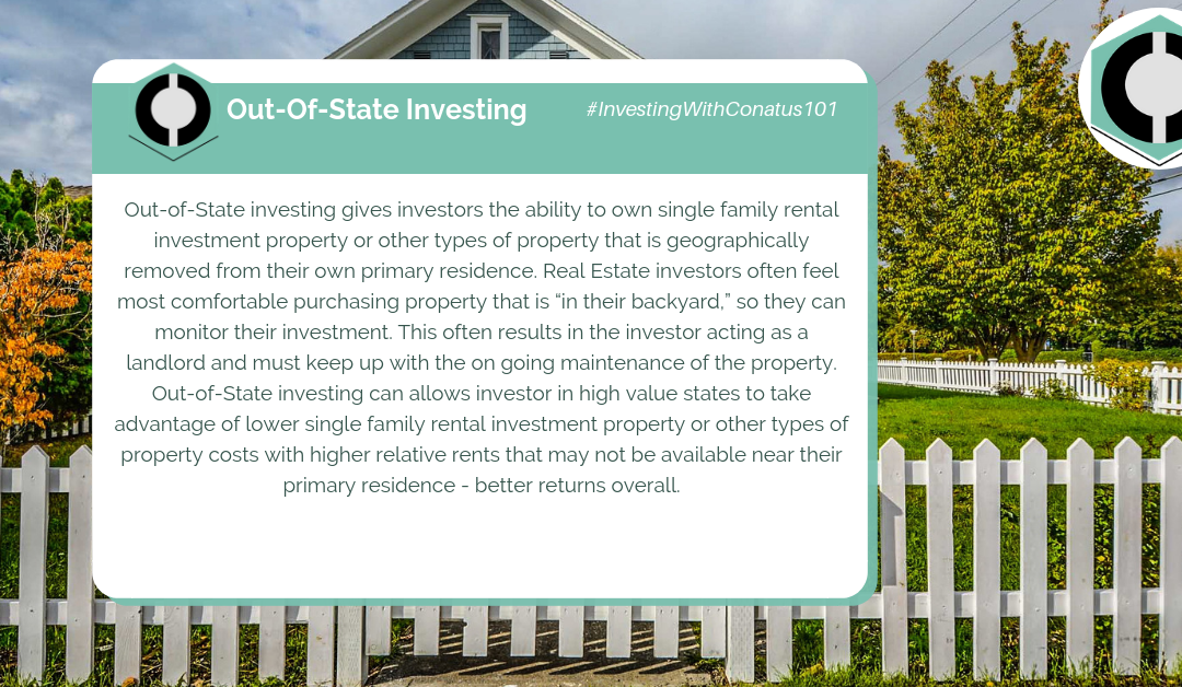 What Is Out-Of-State Investing In SFR Investing?