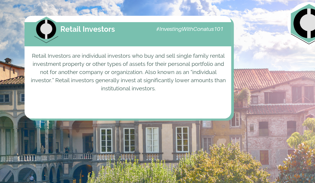 What Are Retail Investors In SFR Investing?